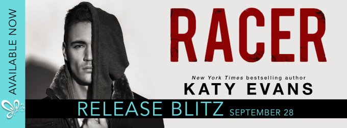 Racer by Katy Evans is live!